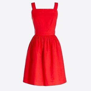 Cotten Linen Apron Dress